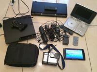 ARCHOS 7HOMETABLET PS3 CONSOLE SONY HDMI CD/DVD PLAYER SONY DIGITAL MAVICA CAMERA PORTABLE DVD PLAYR