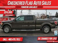 2009 Ford F-150 Lariat W/ 4X4-Heated Leather-DVD