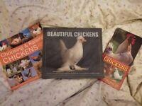 Chicken books x3