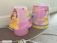 Disney Princess Bedside Lamp and Lampshade