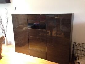 Large Ikea Cupboard and matching wall unit