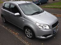 2010 60reg Chevrolet Aveo 1.2 LS Silver History MOT'd 5door AC CD HPiClear £1595 Great Value