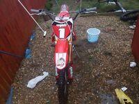 Welsh pit bike 160cc