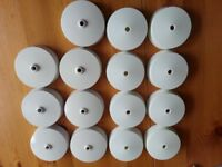 15 ceiling rose, white colour. New condition, never used or fitted.