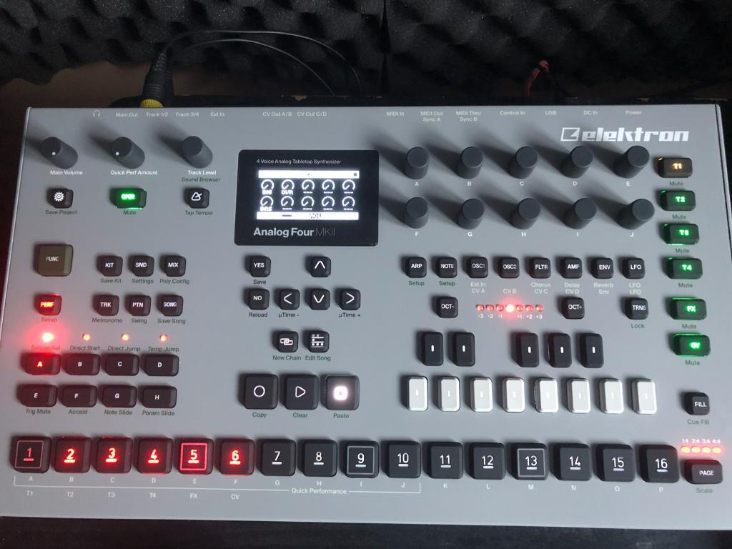 Elektron Analog 4 Mk2 Mkii Months Old Mint In Wembley London Picture Of Circuit Bending A Casio Sk1 Gumtree
