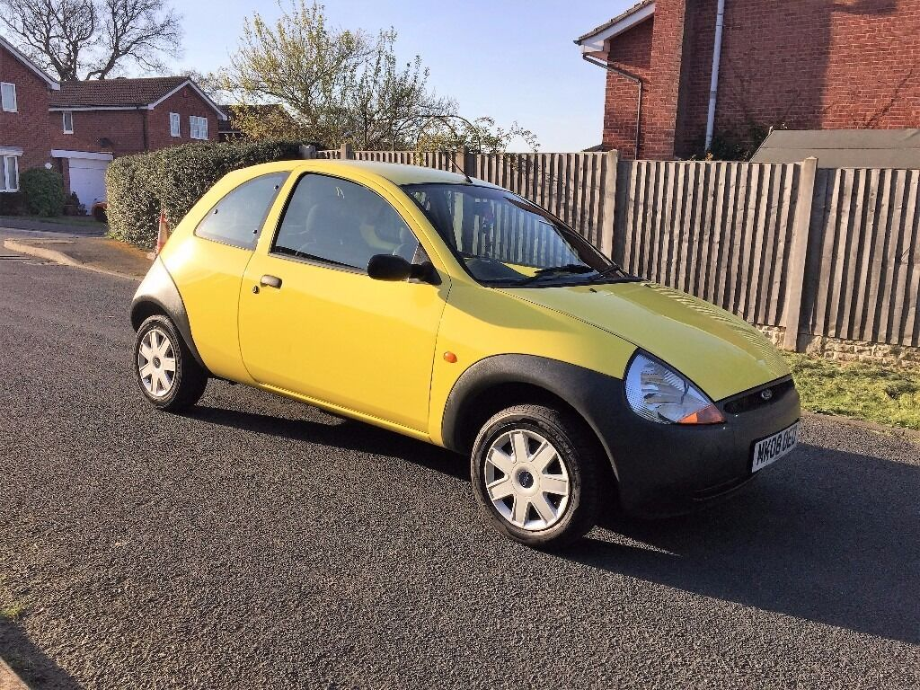 ford ka 1 3 studio 2008 08 reg duratec engine cheap reliable runner 12 months mot s. Black Bedroom Furniture Sets. Home Design Ideas