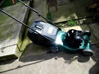 petrol lawnmower in v.g.condition