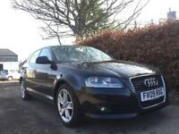 AUDI A3 TDI e SPORT 1.9 2009 ** £30 YEARLY ROADTAX** FULL YEAR MOT**
