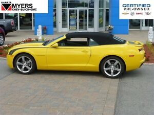 2013 Chevrolet Camaro 2LT CONVERTIBLE RS PKG AUTO NAV LEATHER!