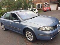 Renault Laguna car 2005 model 2.0 petrol 8 months mot good runner half leather alloys cruise control
