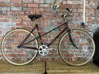 Ladies Raleigh step-over single speed 51cm steel frame bicycle £200