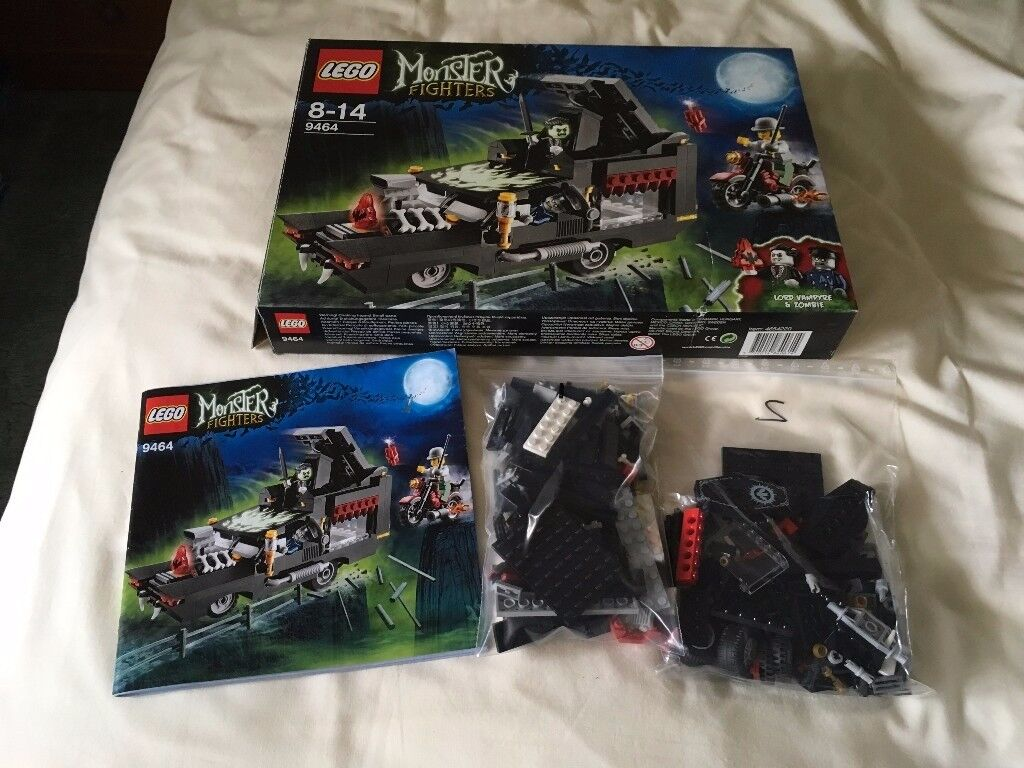 LEGO 9464 Monster Fighters - The Vampyre Hearse Set (Used)