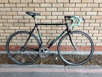 LIGHT BIANCHI ROAD BIKE IN EXCELLENT CONDITION 54 CM COLOMBUS FRAME