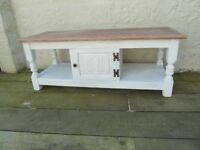 Solid Oak Wood Coffee Table Bros from their Old Charm Range