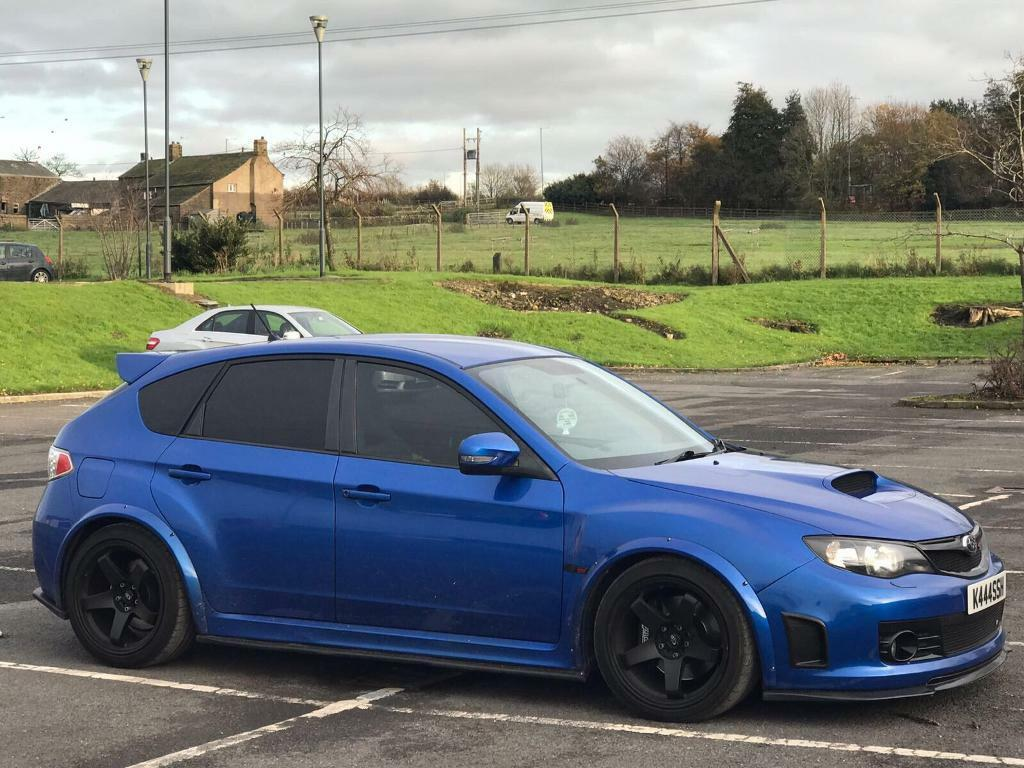 subaru impreza sti hatchback wide arch in blackburn lancashire gumtree. Black Bedroom Furniture Sets. Home Design Ideas