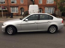 BMW 3 SERIES, SILVER, GOOD CONDITION, LOW MILEAGE, AC, CRUISE CONTROL, RADIO/CD PLAYER,