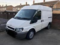 Reliable and friendly man with van