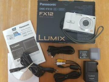 Appareil photo Panasonic Lumix DMC-FX12