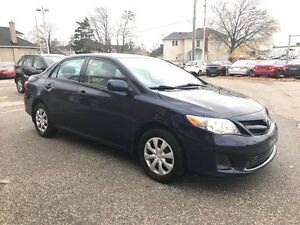 2012 Toyota Corolla ONE OWNER - NO ACCIDENT -SAFETY & E-TESTED