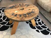 Pair of shabby chic coffee tables £80