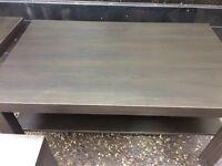 Ikea side table X2 / coffee table dark brown