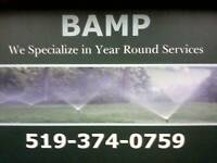 BAMP Property Maintenance/Book Fall cleanups,Snow Removal Now!