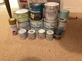 Chalk Paint Bundle - Includes Annie Sloan & Rust-oleum