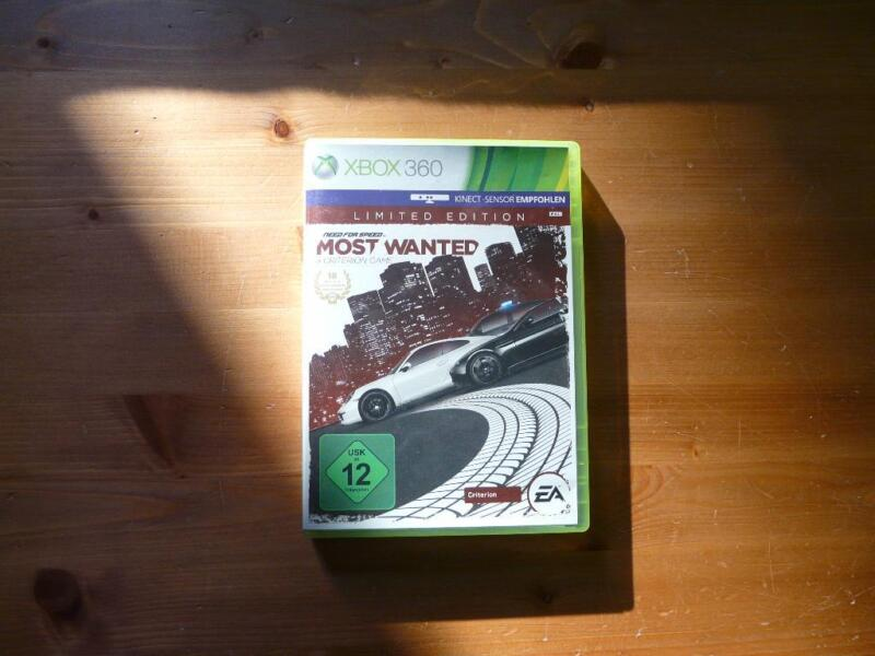 xbox 360 spiel need for speed most wanted in. Black Bedroom Furniture Sets. Home Design Ideas