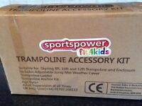 Trampoline accessory kit suitable for skyring 8ft, 10ft &12ft trampoline & enclosure