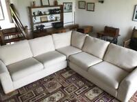 Large corner sofa - 3 modular pieces