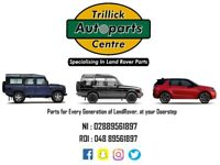 LandRover parts, spares, for all makes and models