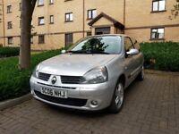Renault Clio 1.2L Campus 2006 - Very Low Mileage >42500 - 3 door, Silver - £1195 ONO