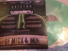 Of mice and men live at Brixton vinyl