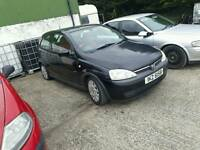 2003 Vauxhall Corsa petrol breaking