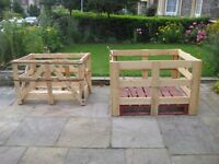 FREE large wooden crates pallets firewood