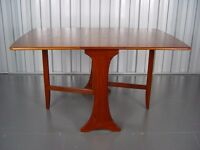 G-Plan Teak Gateleg Table Designed By V. B. Wilkins