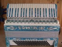 Frontalini, Art Deco, Circa 1930, 4 Voice, Musette Tuned, 120 Bass, Piano Accordion.