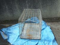 Large Dog Cage (used a battered but still solid)