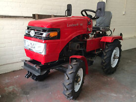 16 Hp Diesel 2 wheel Drive Compact Tractor. 18 months warranty Brand New