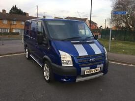 Ford transit sport. Best out there only 31,000 Miles NO VAT