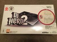 Nintendo Wii DJ Hero 2