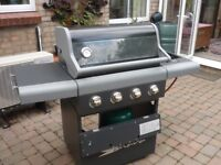 Gas Barbecue - Sahara X4 50 - Only Used 3 Times
