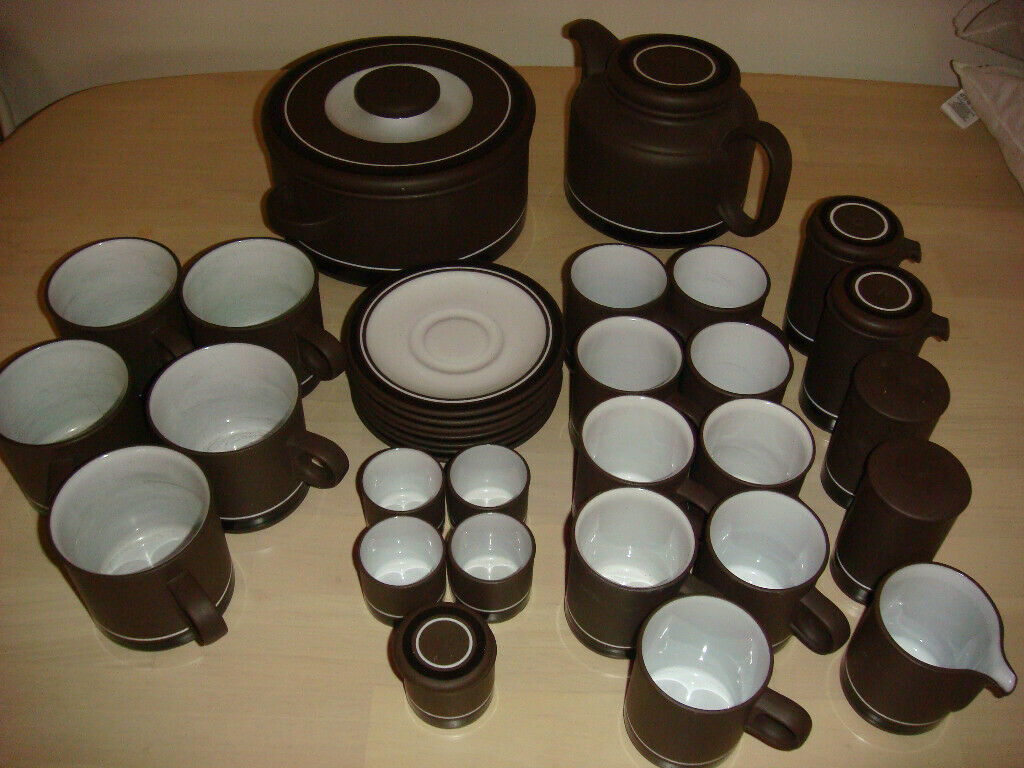 Hornsea Pottery Lancaster Vitramic /'Contrast/' Lidded Soup Bowl