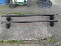Halfords roof bars for cars without rain gutters clio 5dr