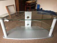 Glass/Metal TV stand - £15 ONO