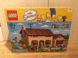 Brand new sealed Lego Simpsons House (71006) set, in mint condition. Discontinued set