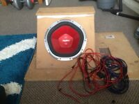 Sony Xplod 1200w Box Build/Subwoofer with Wiring Kit