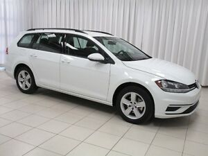 2018 Volkswagen Golf SportWagen 4-Motion All-Wheel Drive!! Back-