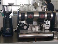 San martin coffee machine with grinder