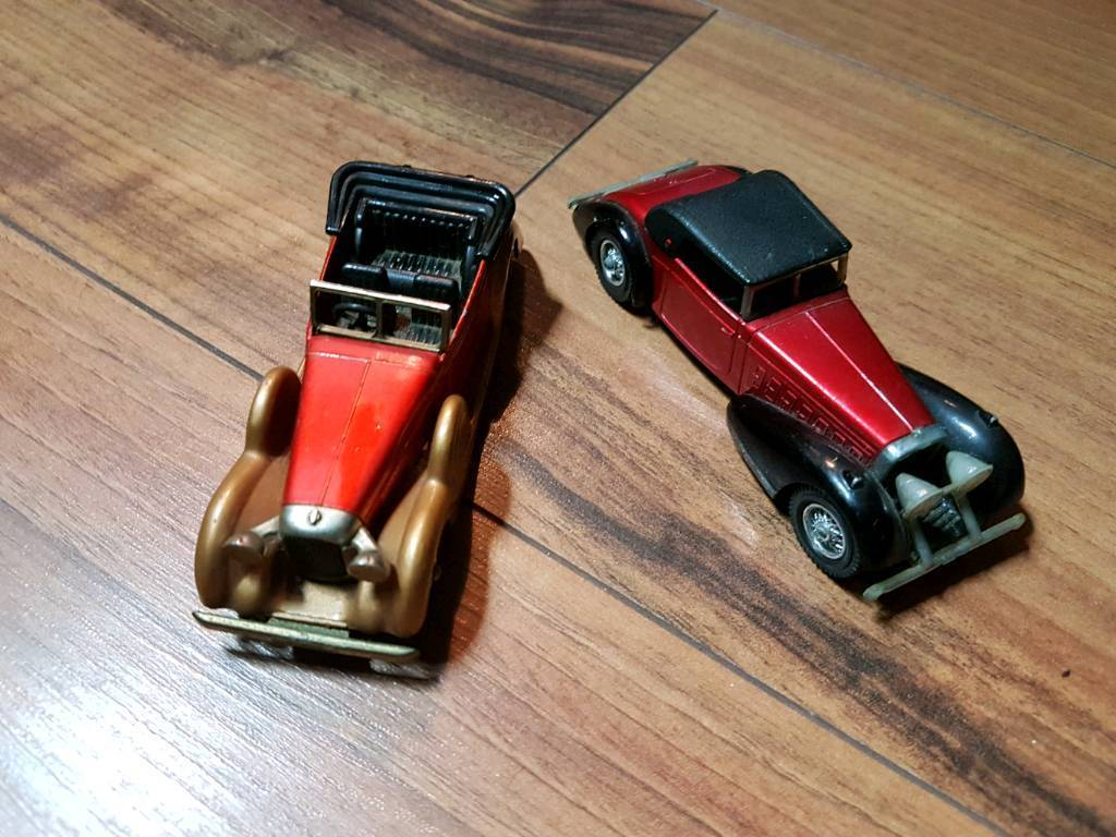 Matchbox 1973 Models of yesteryear cars